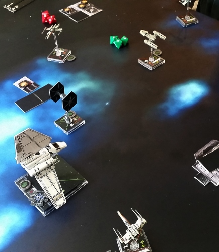 Heroes of the Aturi Cluster Miners Strike Lambda Shuttle X Wing magnets