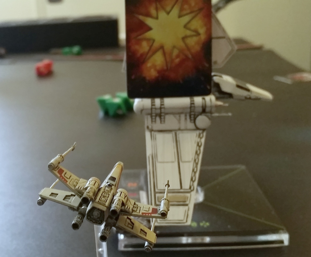 Magnet X-Wing damage card Lambda Shuttle Heroes of the Aturi Cluster