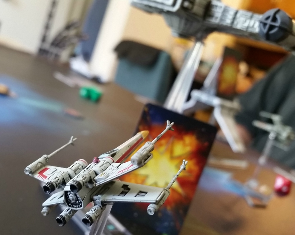 Magnet X-Wing Rebel Transport Dash Rendar YT-2400 Star Wars Heroes of the Aturi Cluster Star Wars miniatures game