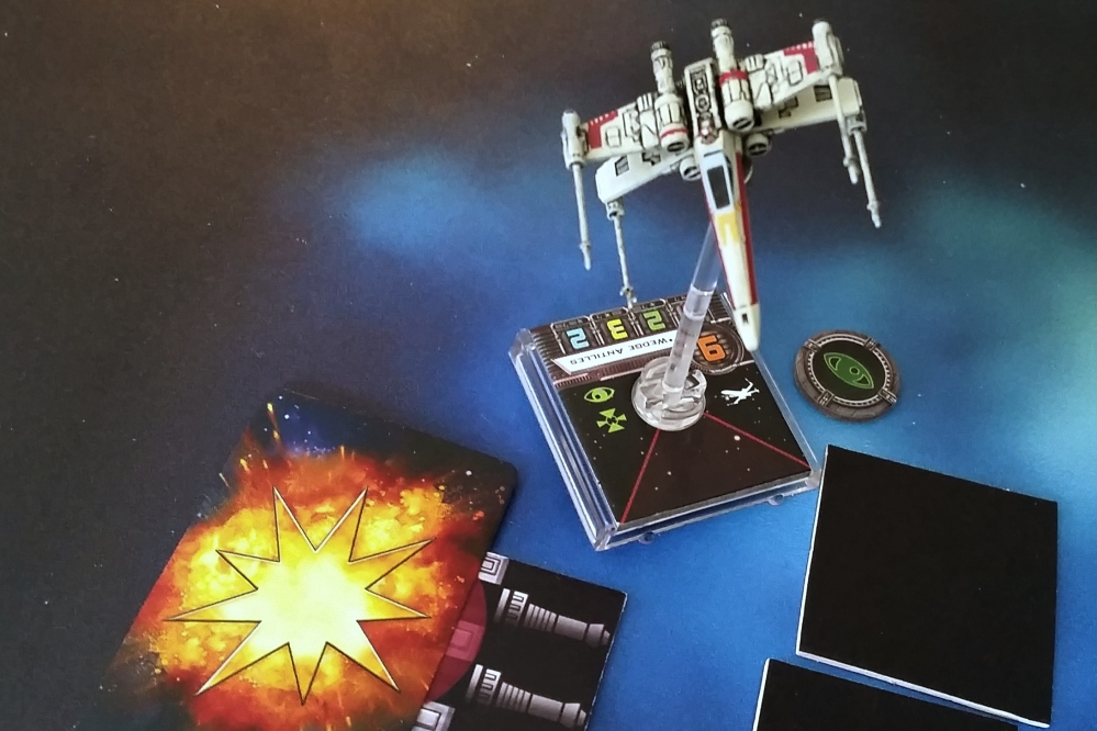 Magnet X-Wing turbolaser Heroes of the Aturi Cluster Star Wars miniatures game