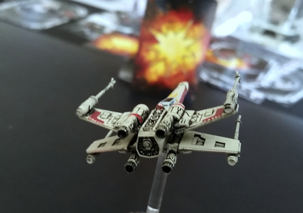magnets X-Wing TIE Fighter damage card Heroes of the Aturi Cluster