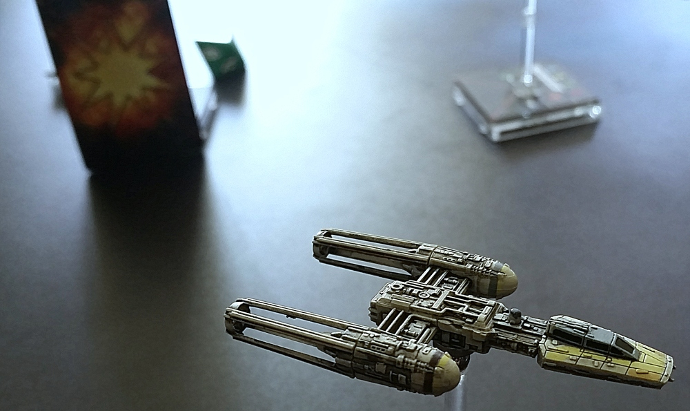 Y-Wing repaint Heroes of the Aturi Cluster